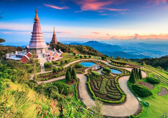 Doi Inthanon National Park, Thailand jigsaw puzzle in Great Sightings puzzles on…: