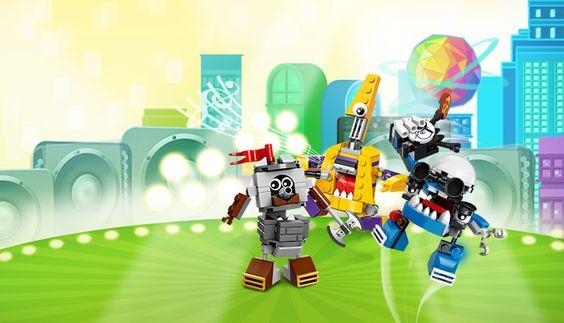 LEGO Mixels Figuren