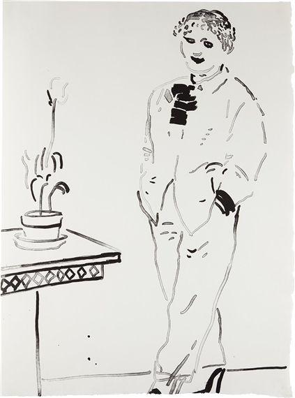 David Hockney - Celia Amused, 1979, Lithograph, on...