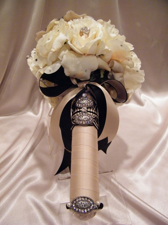 How To Wrap Bridal Bouquet With Ribbon : Ribbon wrap bridal bouquets and photo galleries on