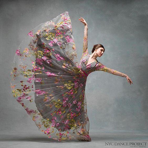 WEBSTA @ nycdanceproject - Happy Birthday Tiler Peck!Dress by Naeem Khan, hair and makeup by Juliet Jane.  @misstilerpeck…