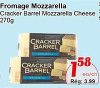 Coupons et Circulaires: 1,58$ CRACKER BARREL 270g