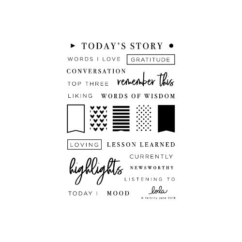 Felicity Jane Lola | Stamp Set