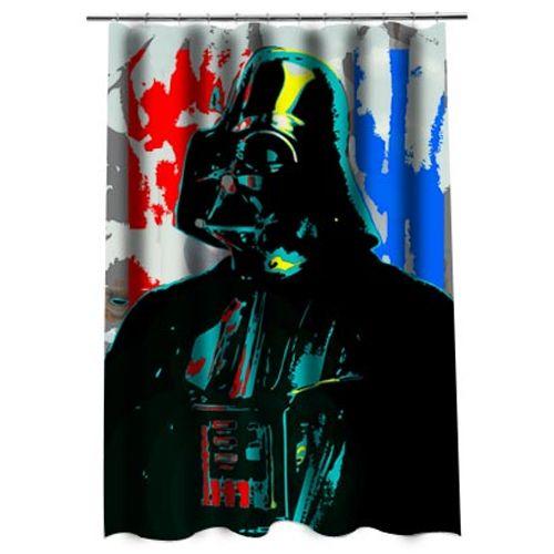 Darth Vader Shower Curtain Shower Curtain Curtains