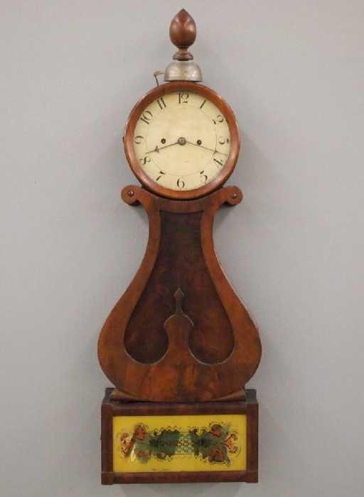 Willard Type Lyre Banjo Clock Nov 04 2017 Schmidt S Antiques Inc Since 1911 In Mi Clock Antique Wall Clock Willard