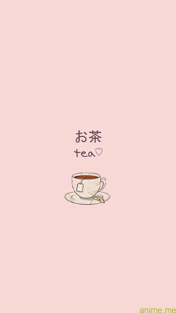 Easy Wallpapers Tumblr Anime Emerged When Japanese Filmmakers Discovered And Began To Make The Most Of Simple Wallpapers Tea Wallpaper Cute Simple Wallpapers