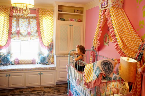 We adore the whimsical design of this fab nursery decor from @Addison's Wonderland! #PNapproved