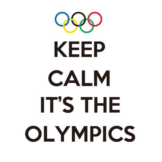 There is something so patriotic about watching the olympics...I love watching and cheering on our athletes...and seeing the american flag being waved in th stands!