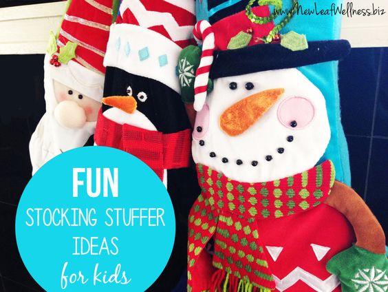 Fun Stocking Stuffer Ideas For Kids Toddler Fun