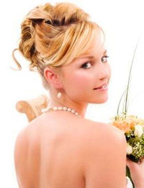 Image detail for -... Wedding Updos Hair Styles Photos | Updos for medium length hair