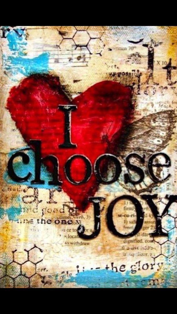 CHOOSE to be how you wish to be!