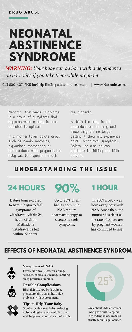 This is a great infographic about Neonatal Abstinence Syndrome!