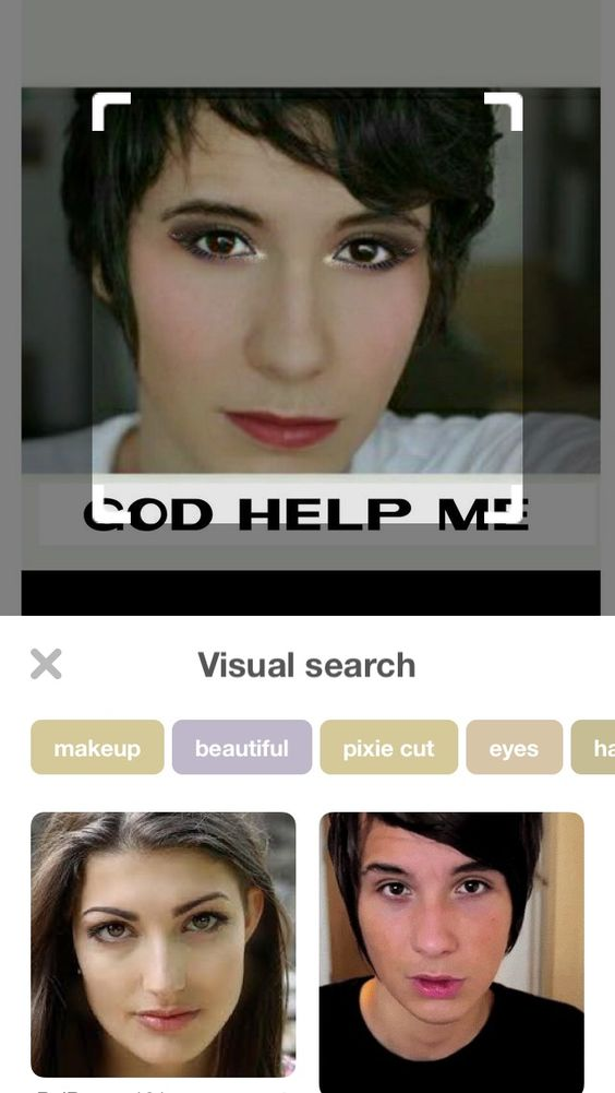 The visual search omfg