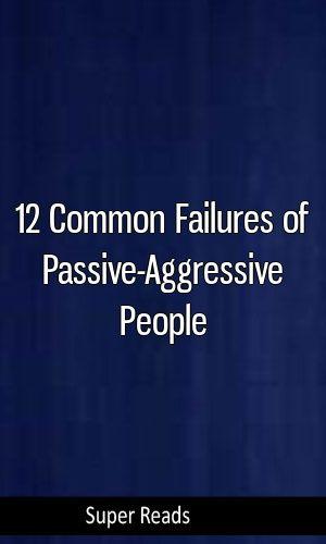 Passiv aggressive persönlichkeit
