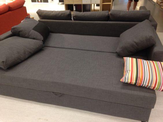 Friheten 3 seat sofa bed ikea garage conversion for Sofa bed 3 seater ikea