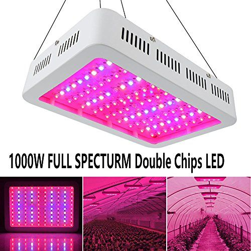 Cheap 1000watt Led Grow Light Double Chips Full Spectrum With Uv And Ir Enereco Super Bright Led Plant Lamp Fo Led Grow Lights Grow Lights Best Led Grow Lights