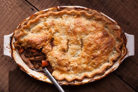 Beef Short Rib and Ale Pie | Recipe | Ales, Short Ribs and Beef And ...