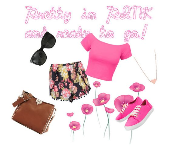 """Pretty in Pink"" by bridgescrossed on Polyvore"
