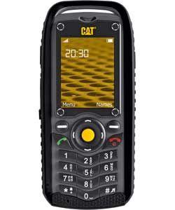 SIM Free Cat B25 Mobile Phone - Black.