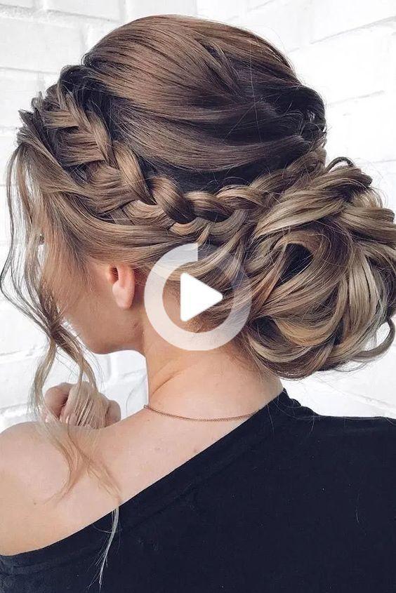 15 Hairstyle Ideas Short Hairstyle Ideas 2019 Hairstyle Ideas Instagram Hair In 2020 Wedding Hairstyles Updo Braided Hairstyles For Wedding Braided Bun Hairstyles