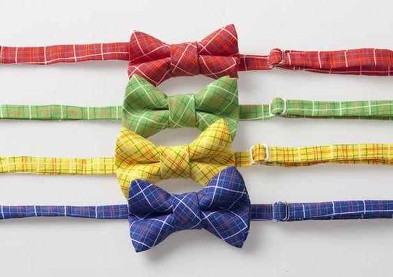 Little Boy Bow Ties  Red Green Yellow or Blue by littlegentleman, $15.00