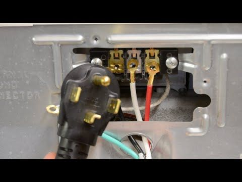 How To Change A Dryer Cord Changing A 3 Prong To A 4 Prong Plug Youtube Dryer Dryer Plug Plugs