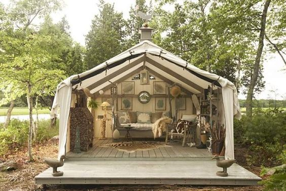 Reunions Military Style And Wall Tent On Pinterest