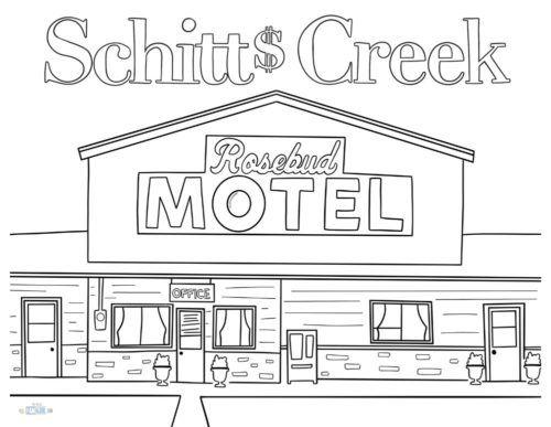 I M Obsessed Free Schitt S Creek Coloring Pages Coloring Pages Schitts Creek Super Coloring Pages