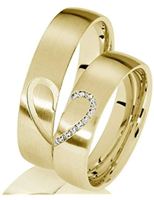 23 Wedding Rings From Amazon The Story Of Wedding Ring Couple Wedding Rings Wedding Ring Sets Unique Couple Rings Gold