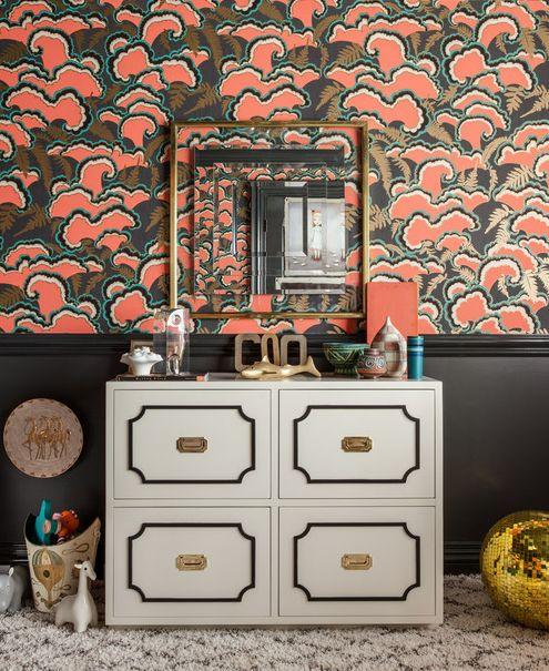 wallpaper: Interior Design, Wall Paper, Design Decor Bedrooms, Girls Room, Designer Showhouse, Kids Rooms