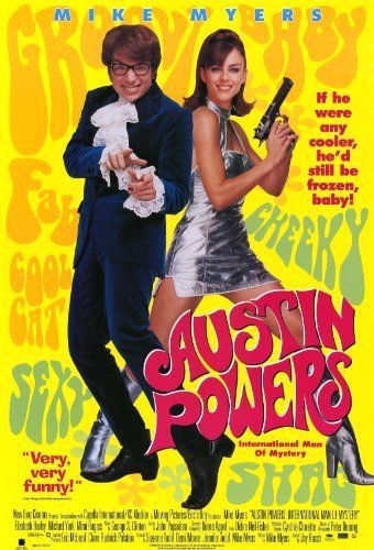 Directed by Jay Roach. With Mike Myers, Elizabeth Hurley, Michael York, Mimi Rogers.