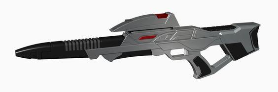 "3D-Druck fähiges Modell des ""Star Trek Mark 3 Phaser Rifle"""