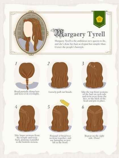 5 how to Game Of Thrones Hairstyles