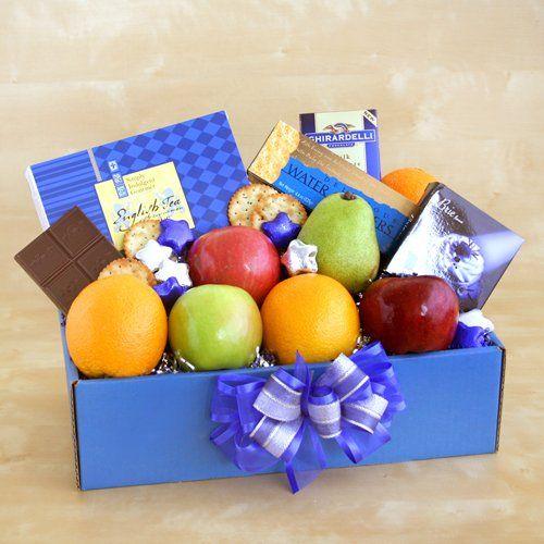 Organic Kosher Fruit Basket   Great Kosher Gift Basket   Organic Stores Kosher Gift Baskets $39.95