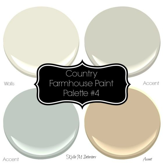 Sherwin williams 4 neutral farmhouse country paint for Country home interior paint colors