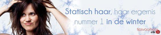Statisch haar, haar ergernis nummer 1 in de winter. Gelukkig bestaan er tips om statisch haar te voorkomen > www.tipsvoorhaar.nl/blog