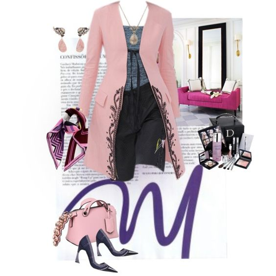 Modern by saponacsve on Polyvore featuring Fendi, Nak Armstrong, Anaconda, Christian Dior and modern