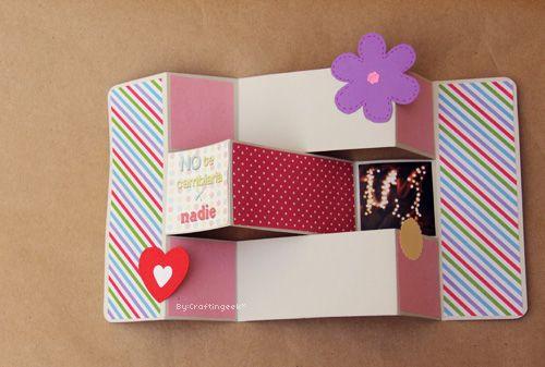 Dia de manualidades and ideas para on pinterest - Manualidades para hacer tarjetas ...