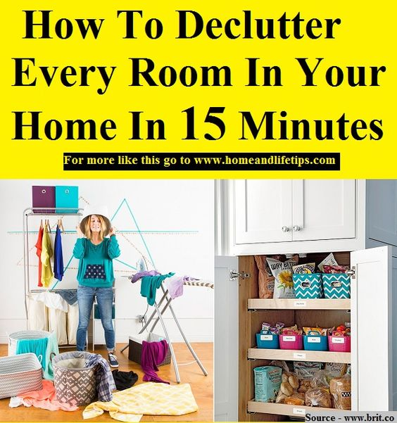 Declutter And Home On Pinterest