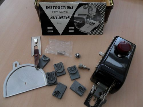 precision built button holer attachment | eBay  {Has unusual templates!!}