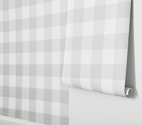 Buffalo Check Peel Stick Wallpaper Bathroom Wallpaper Peel And Stick Wallpaper Wallpaper Bedroom