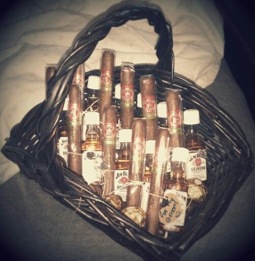 Bachelor party gifts from bride!