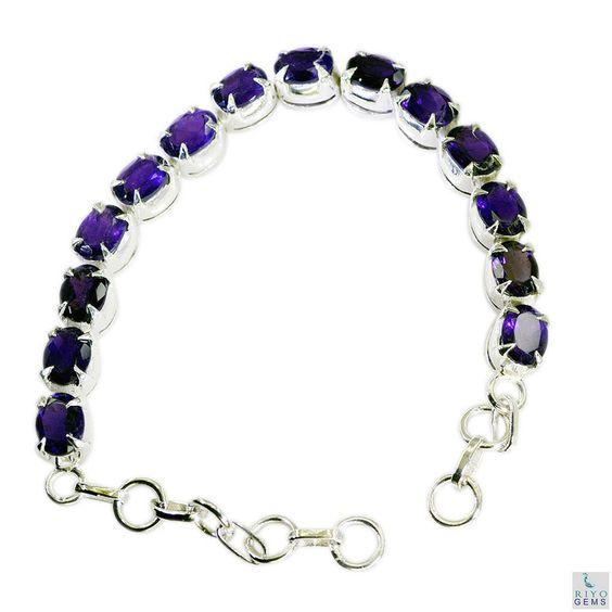 feinen Amethyst Silber lila Armband Schmuck l-7.5in de  http://www.ebay.de/itm/feinen-Amethyst-Silber-lila-Armband-Schmuck-l-7-5in-de-/262606158426?hash=item3d248bfa5a:g:nTEAAOSw8oFXyY~E