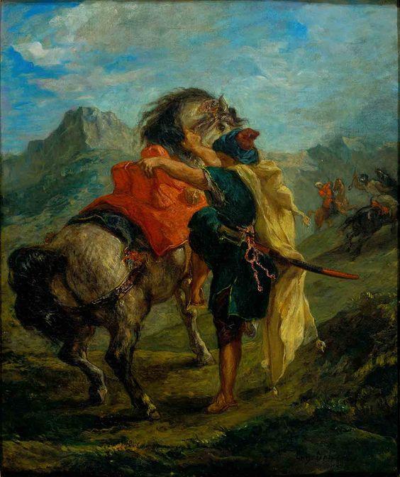 Delacroix And The Rise Of Modern Art Pinturas Artistas Arte