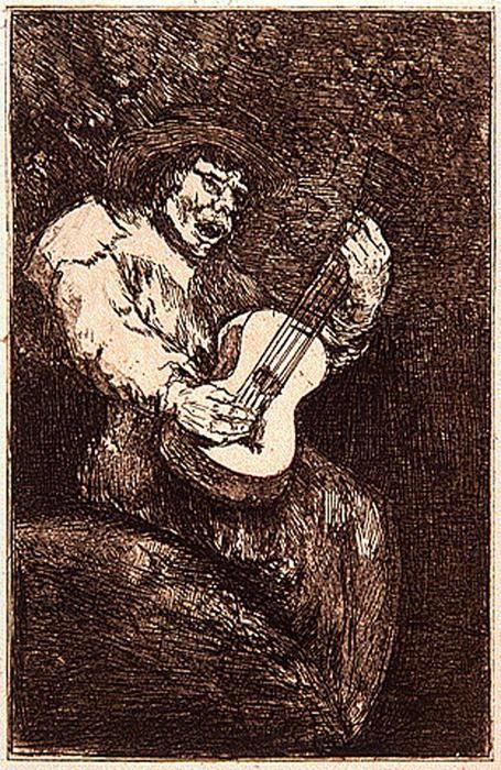 Francisco de Goya - El cantor ciego