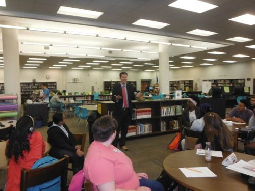 Evan Guthrie Law Firm Spoke To The Goose Creek High School Law Education Law Firm Firm Guthrie