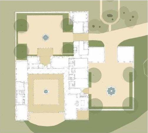 Hacienda De Las Flores Michael Burch Architects In 2020 Hacienda Spanish Colonial Floor Plans