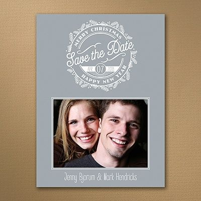Merry Event - Photo Save the Date    |  40% OFF  |  http://mediaplus.carlsoncraft.com/Wedding/Save-the-Dates/3254-TWS32676-Merry-Event--Photo-Save-the-Date.pro