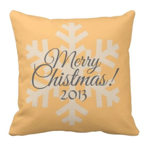 Customize This Pillow!  Great gift idea for baby's first Christmas, wedding gift, house warming gift.  http://www.zazzle.com/customize_this_pillow-189956228378603307?rf=238682934585620601