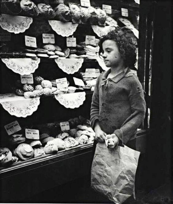 Whitechapel bakery window, ca. 1935 by Edith Tudor-Har